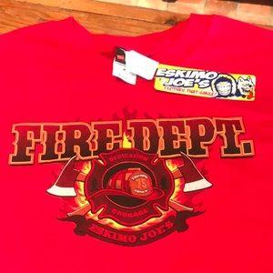Eskimo Joe's Size M Fire Dept. T-shirt